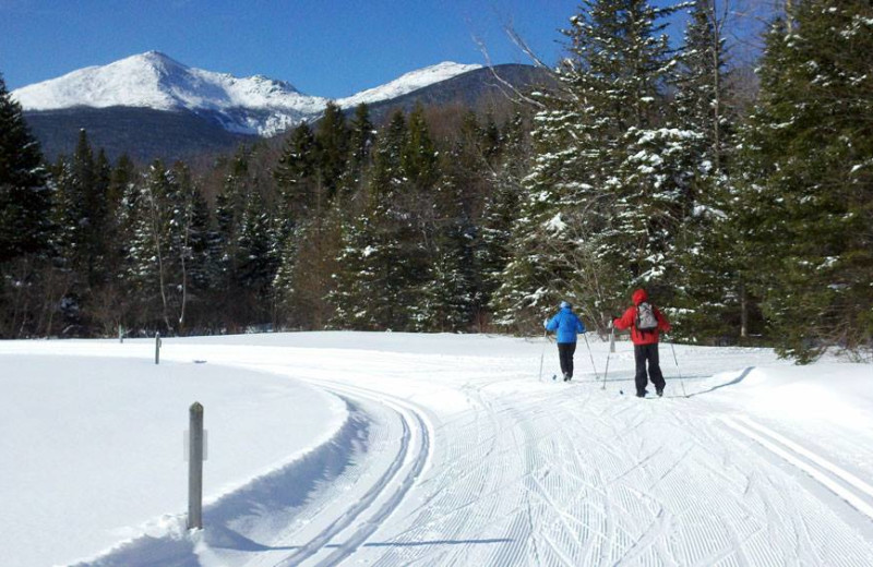 Cross country skiing near Royalty Inn.