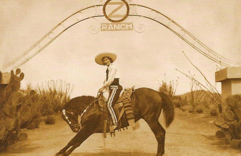 Historic photo of Circle Z Ranch.