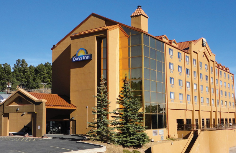 Exterior view of Copper Mountain Resort.