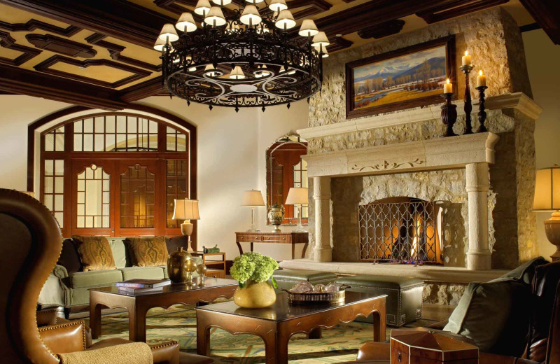 Lobby view at Arrabelle at Vail Square.