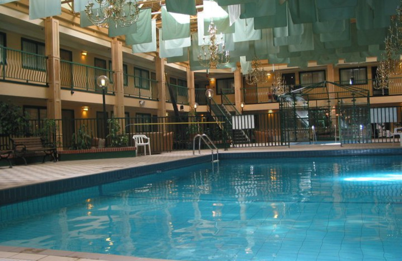 Indoor pool at Park Place Lodge.