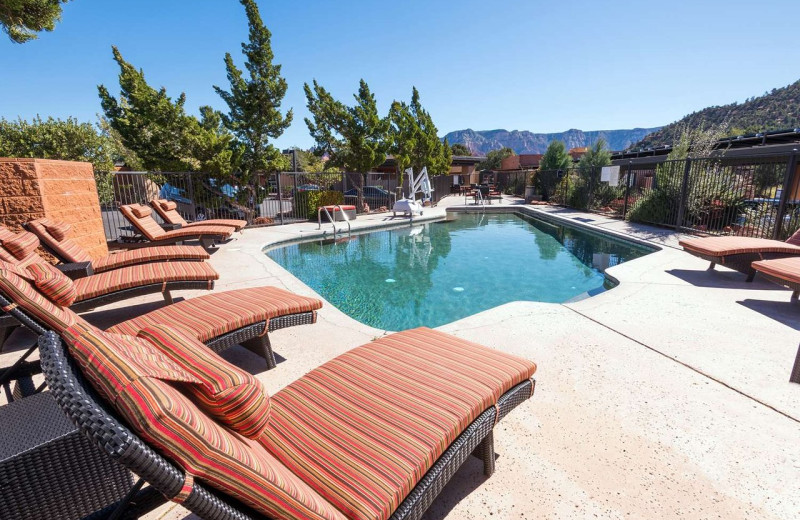Pool at Best Western Plus Inn of Sedona.