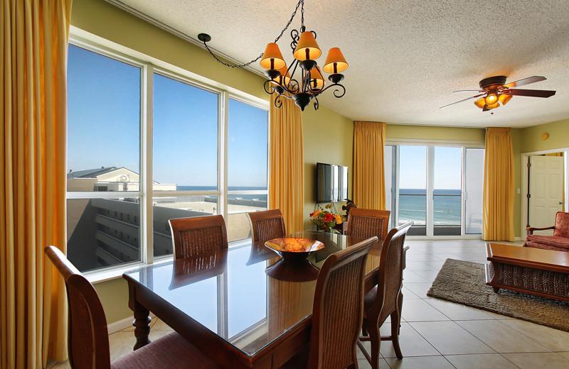 Vacation rental interior at Sterling Sands Condominiums.