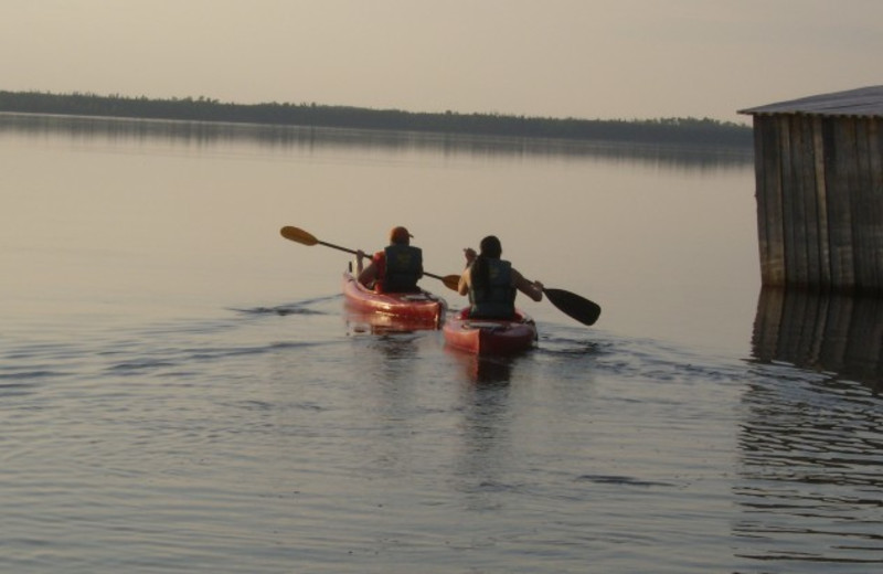 Kayaking at Wilderness North