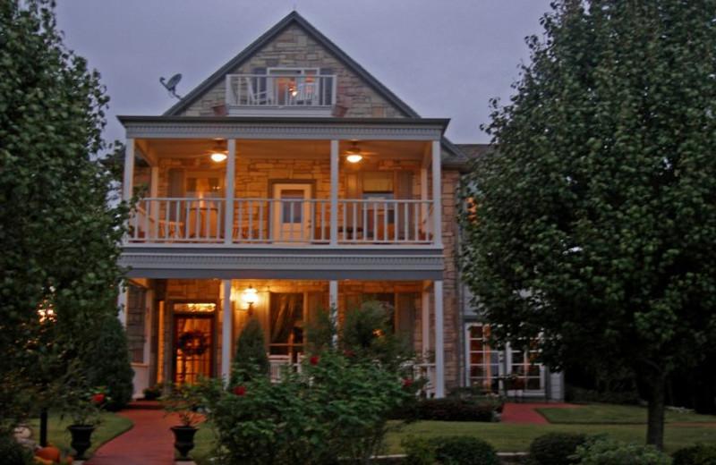 Exterior view of Elm Creek Manor.