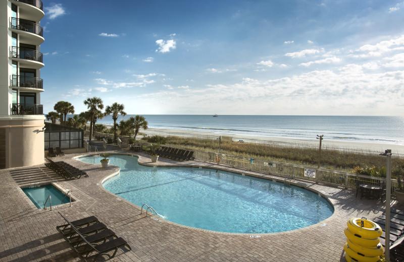 Outdoor pool at Caribbean Resort & Villas.