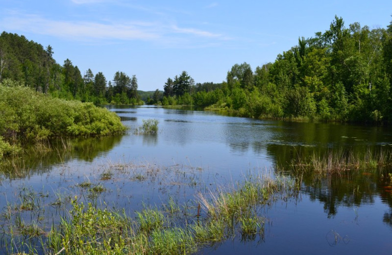 Lake view at Giants Ridge Golf and Ski Resort.