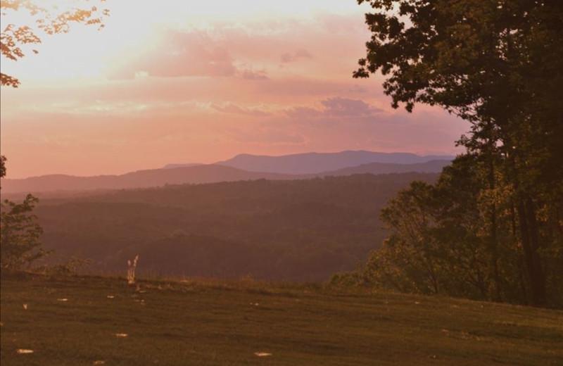 Sunset at Singletree Gun & Plough.