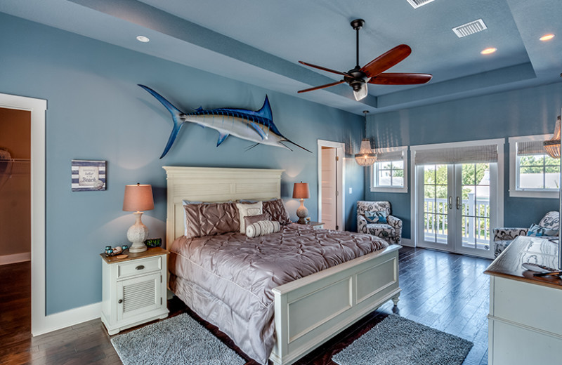 Rental bedroom at Belloise Realty.