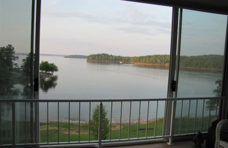 Lake view at Big Bear Resort.