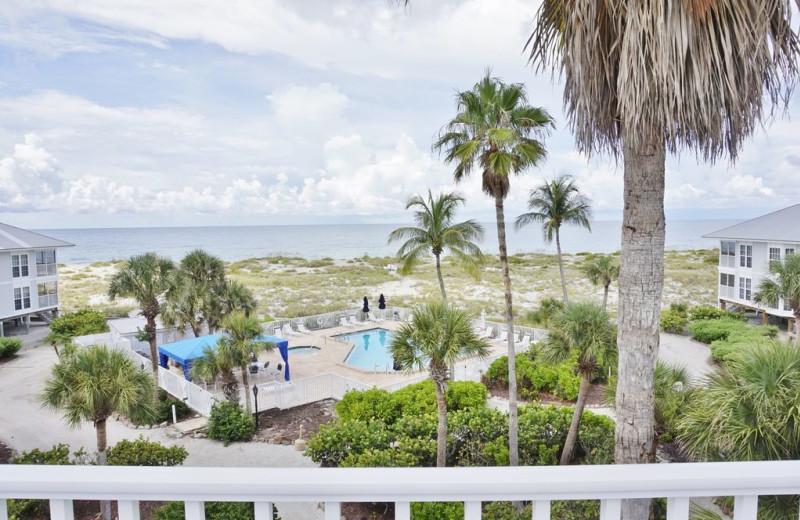 Balcony viw at Palm Island Resort.