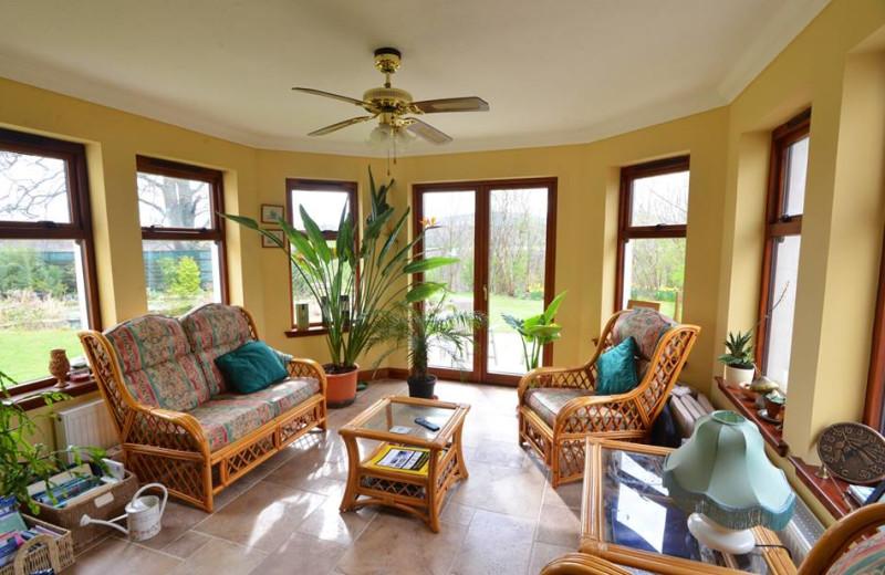 Guest lounge at Home Farm B&B.