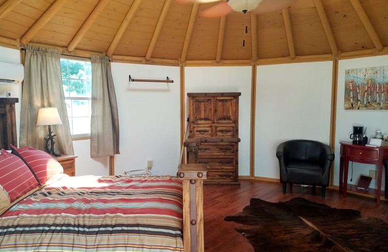 Yurt at Mill Creek Ranch Resort.