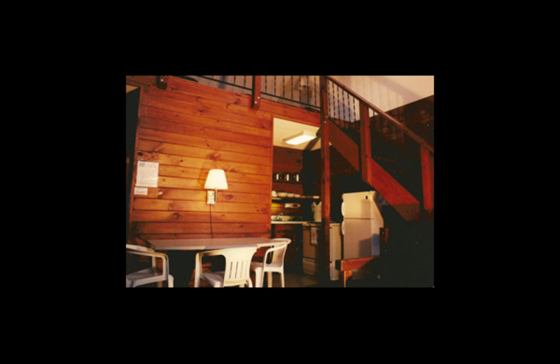 Interior view of Northern Lake George Resort.
