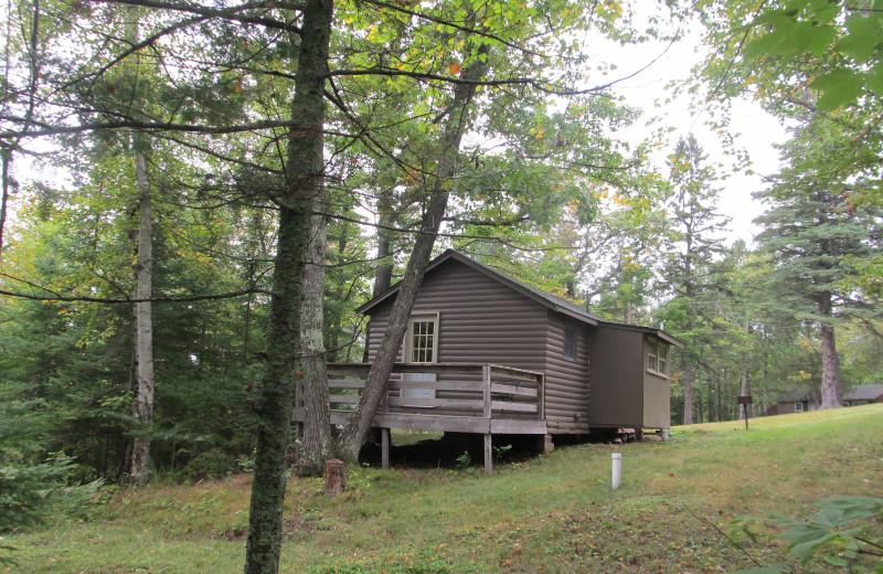 Cabin at Hanging Horn Lakeside Resort.