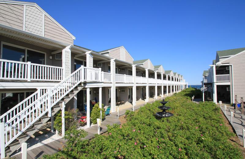 Exterior view of Ocean Walk Hotel.