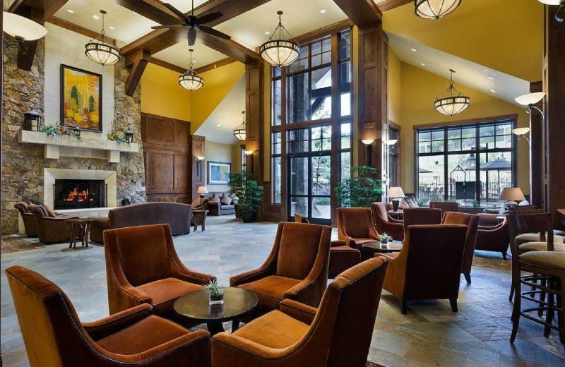 Lobby at Grand Lodge on Peak 7.