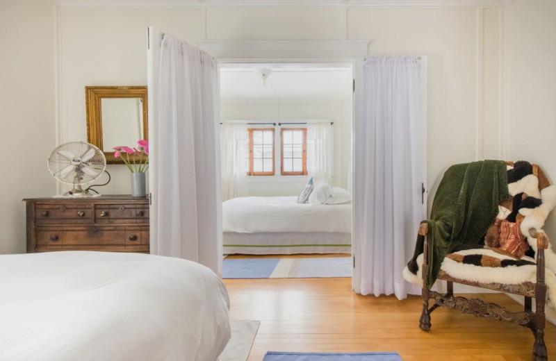 Cottage bedroom at GO-Cottage.