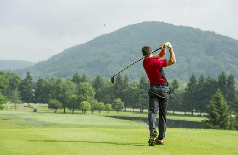 Golf at Holiday Valley Resort.