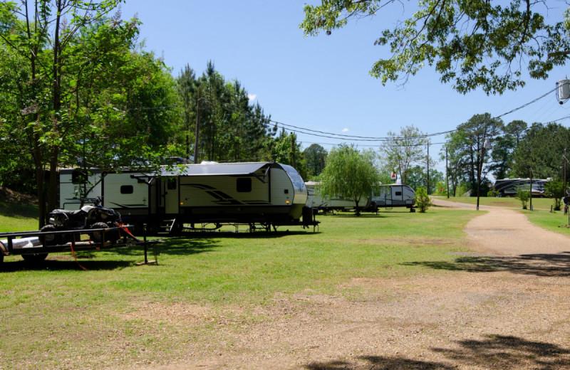 RV campground at Kel's Kove.