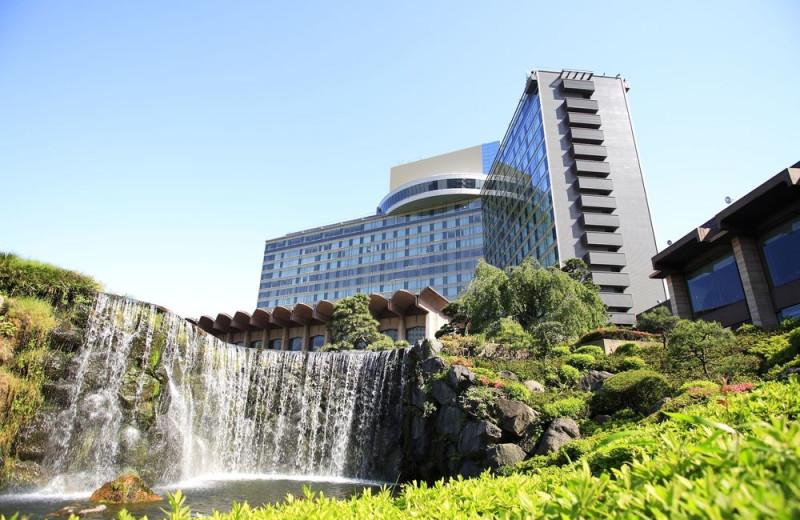 Exterior view of Hotel New Otani.