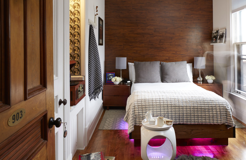 A luxurious, extremely private, four guest room refuge for overdue personal moments.