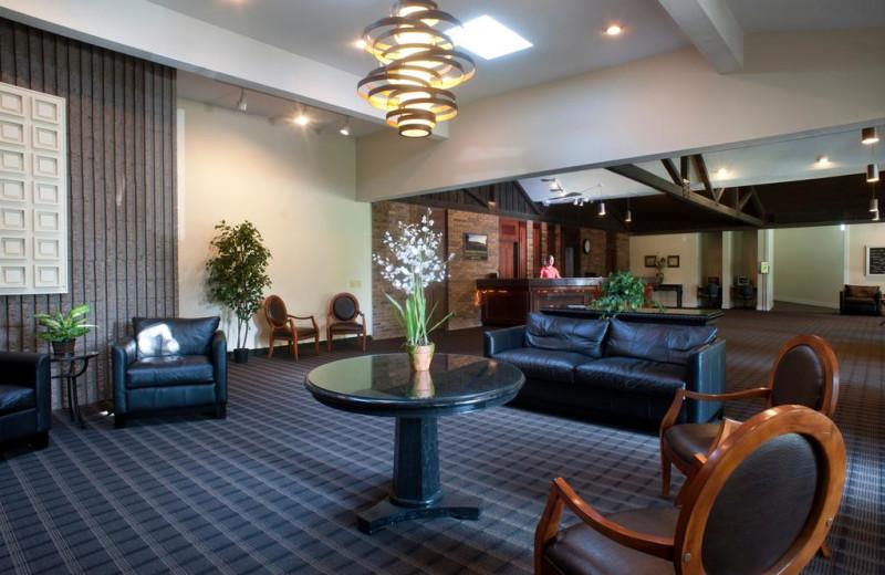 Lobby at Devils Head Resort