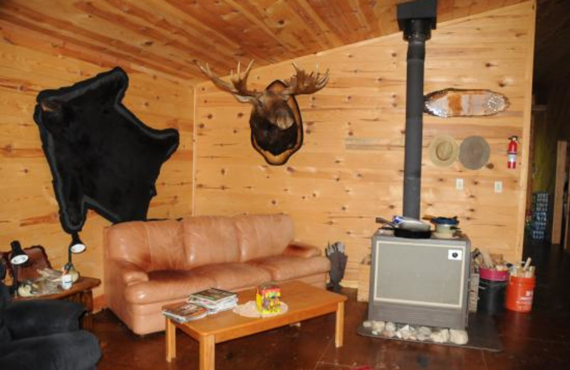 Cabin Interior at Barker Bay Resort & Outposts