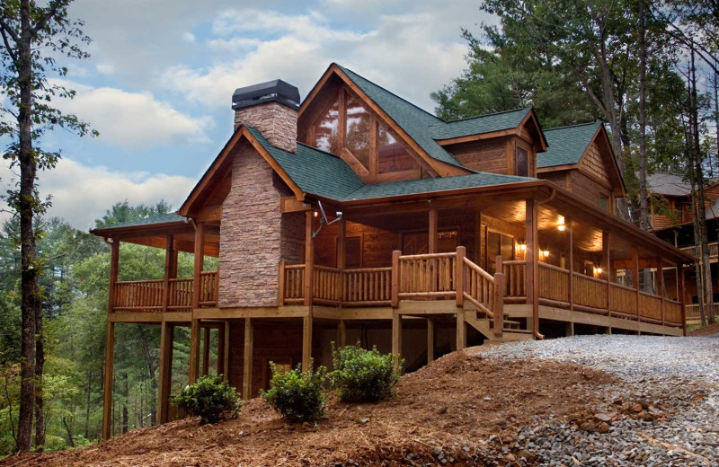 Rental exterior at Nevaeh Cabin Rentals.