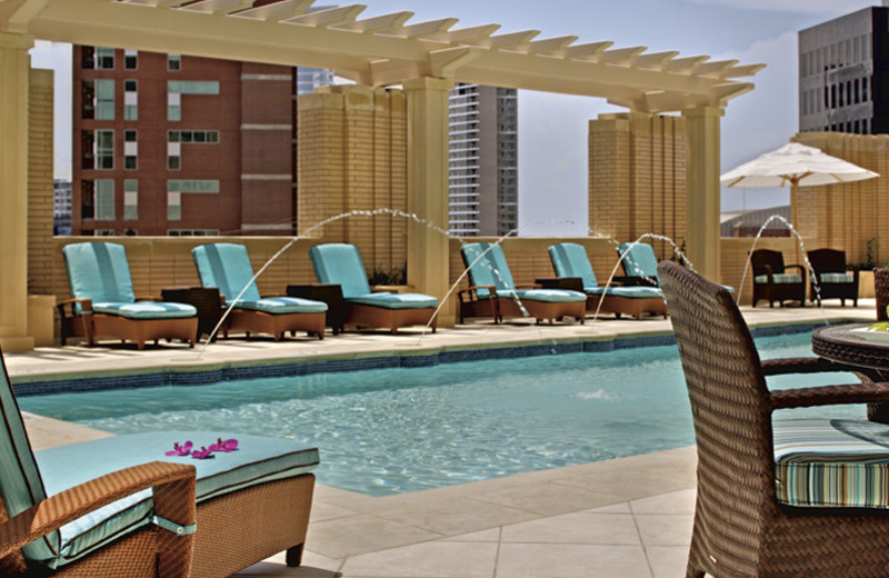Outdoor pool at The Ritz-Carlton, Dallas.
