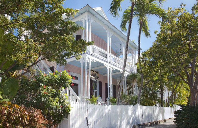 Exterior view of Key West Bed & Breakfast.