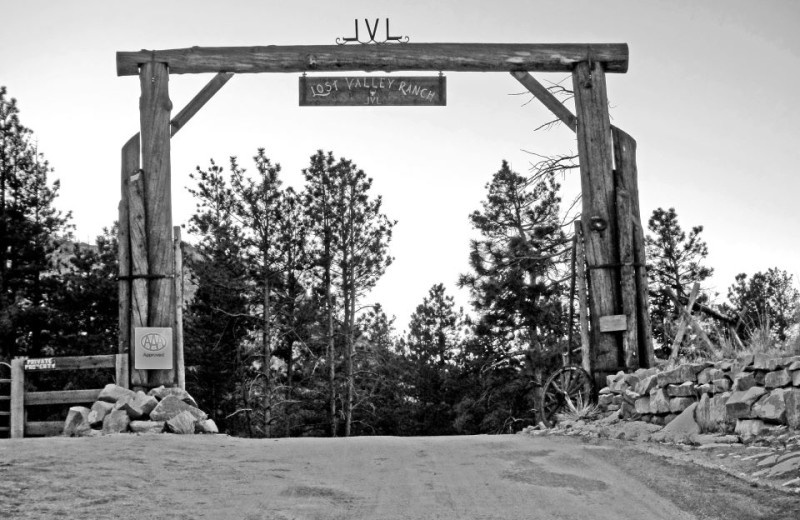 Entrance of Lost Valley Ranch