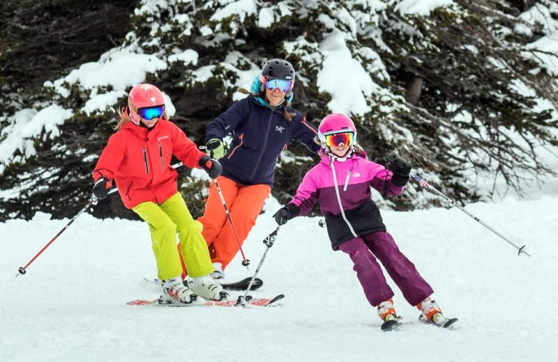 Skiing at Alta Lodge.