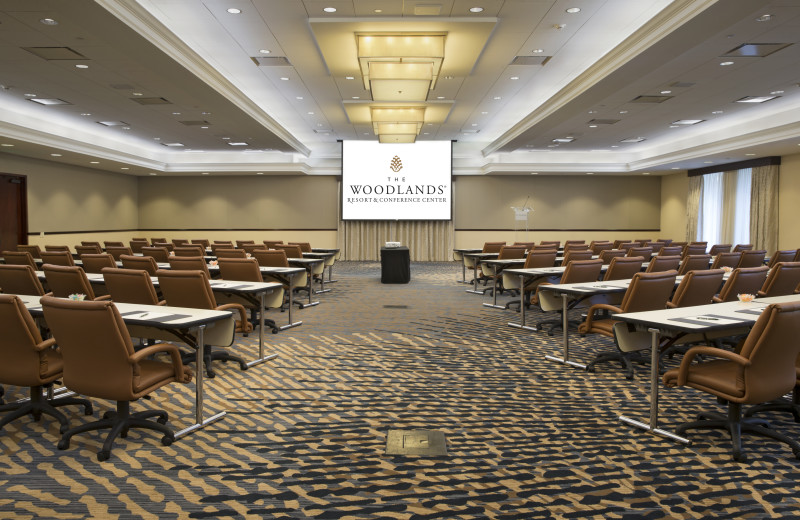 Conference at The Woodlands Resort and Conference Center.