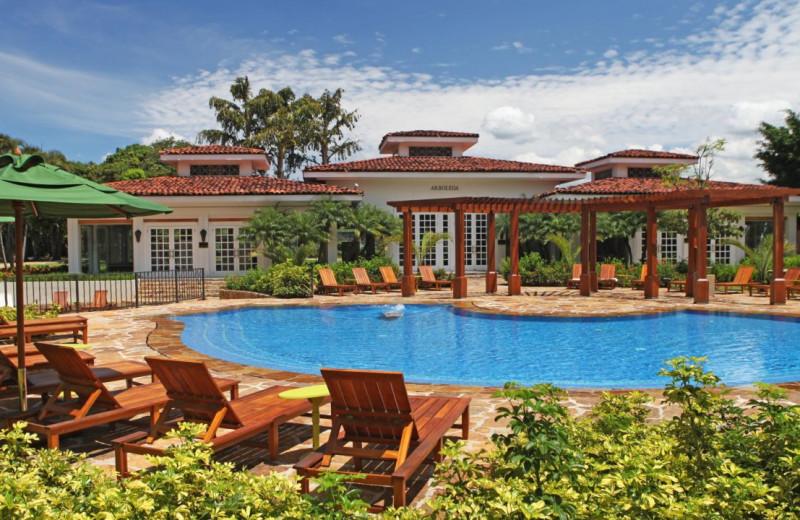 Outdoor pool at Camino Real Inter-Continental.