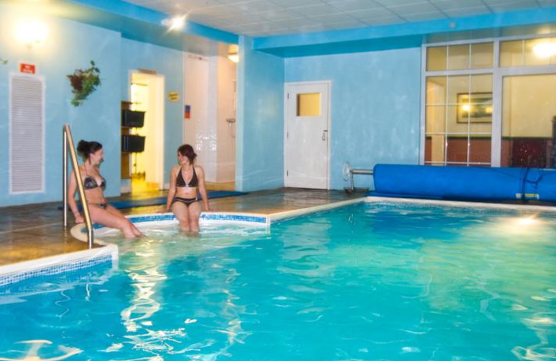 Indoor pool at Berry Head Hotel.