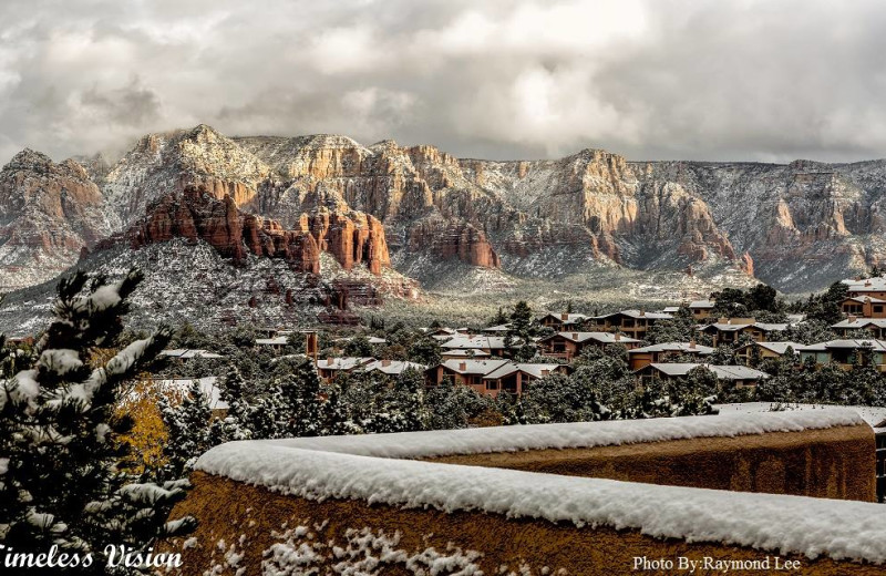 Winter time at Best Western PLUS Inn of Sedona.