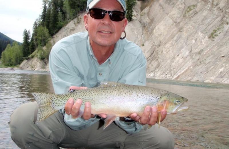 Fishing at Great Northern Resort.