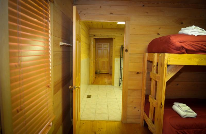 Guest room at Buckhead Ranch.