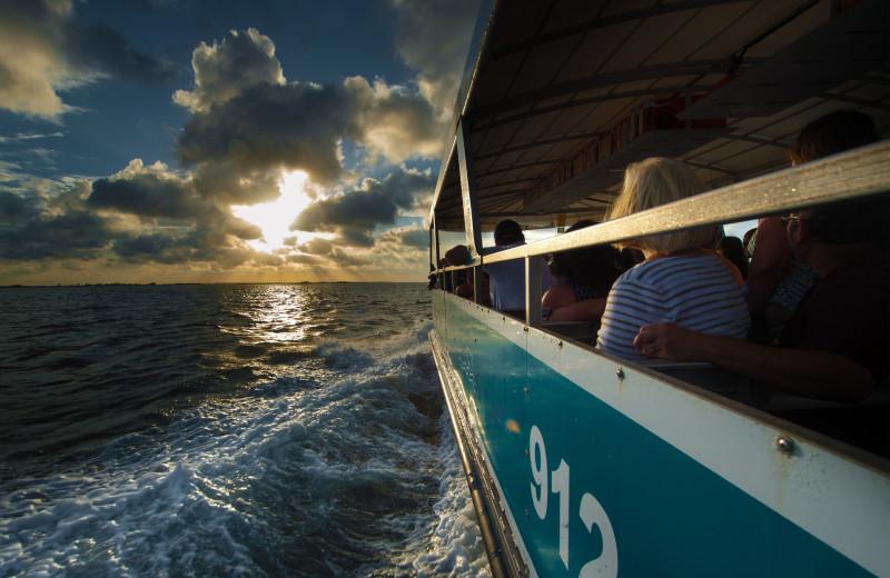 Boating at Westin Jekyll Island.