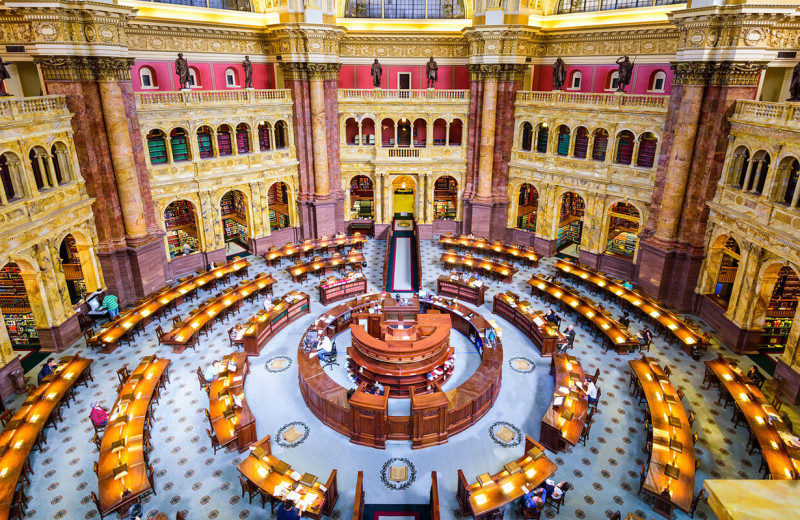 Library of Congress at American Guest House.