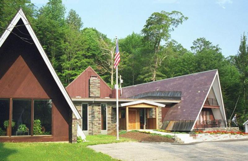 Inn exterior view at Birch Ridge Inn.
