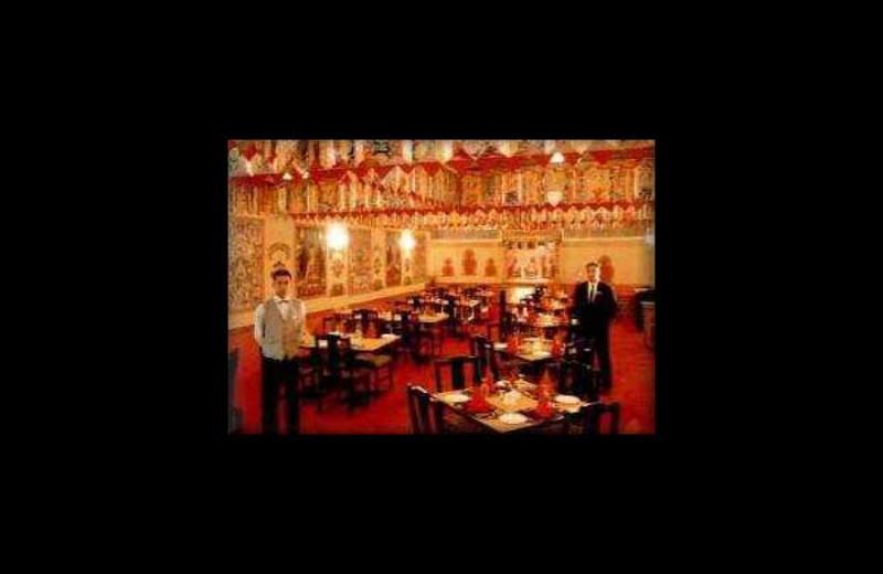 Dining at Bluestar Hotel.