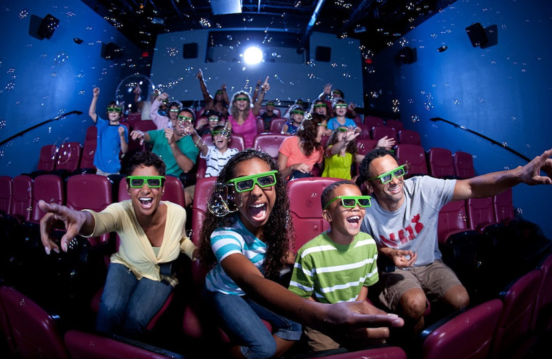 4D theater at Holiday Inn Resort Orlando Suites - Waterpark.