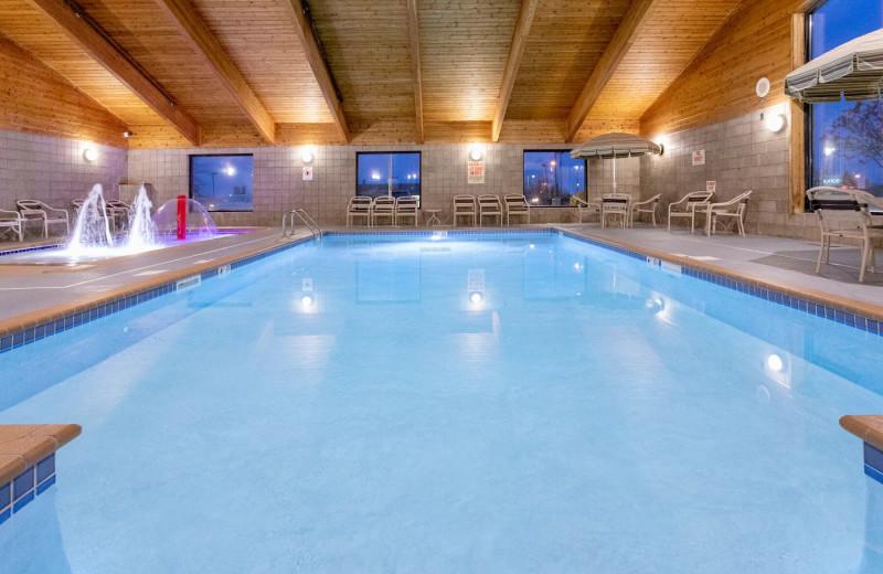 Indoor pool at AmericInn by Wyndham - Fergus Falls.