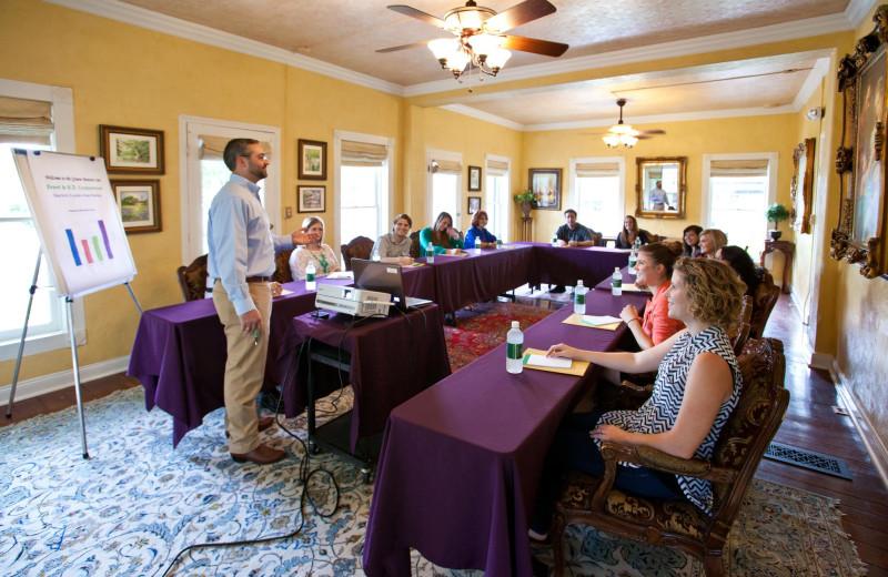 Meeting at Gruene Mansion Inn.