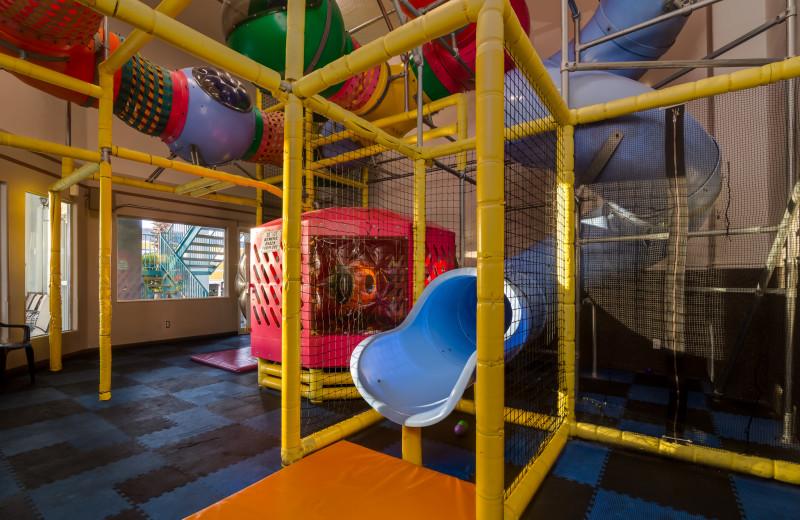 Indoor playground at St. George Inn.