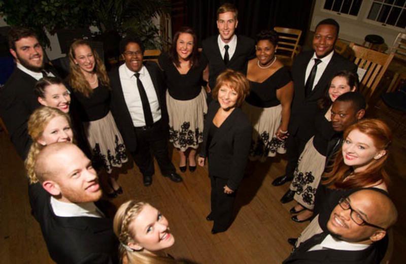 Singers at  Lake Junaluska Conference & Retreat Center.