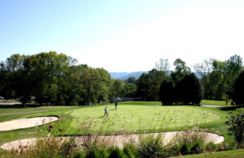 Golfing at Etowah Valley Country Club & Golf Lodge