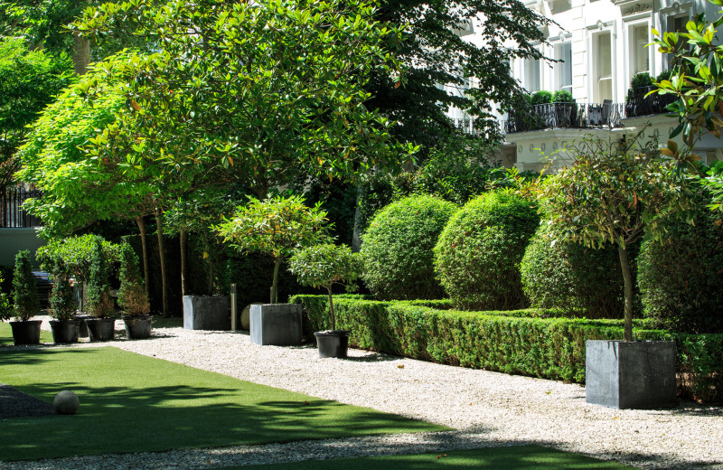 Garden at Hempel.